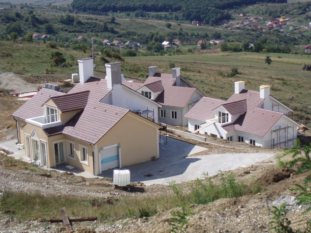 Ansamblul Rezidential case pe structura metalica
