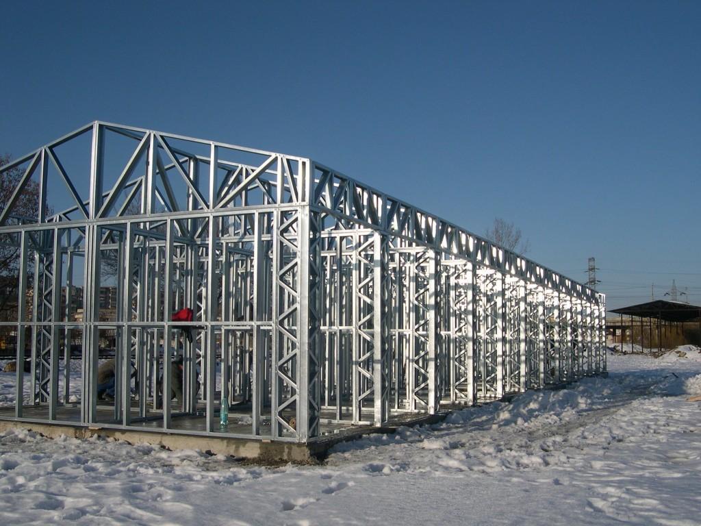 Bazar pe structura metalica