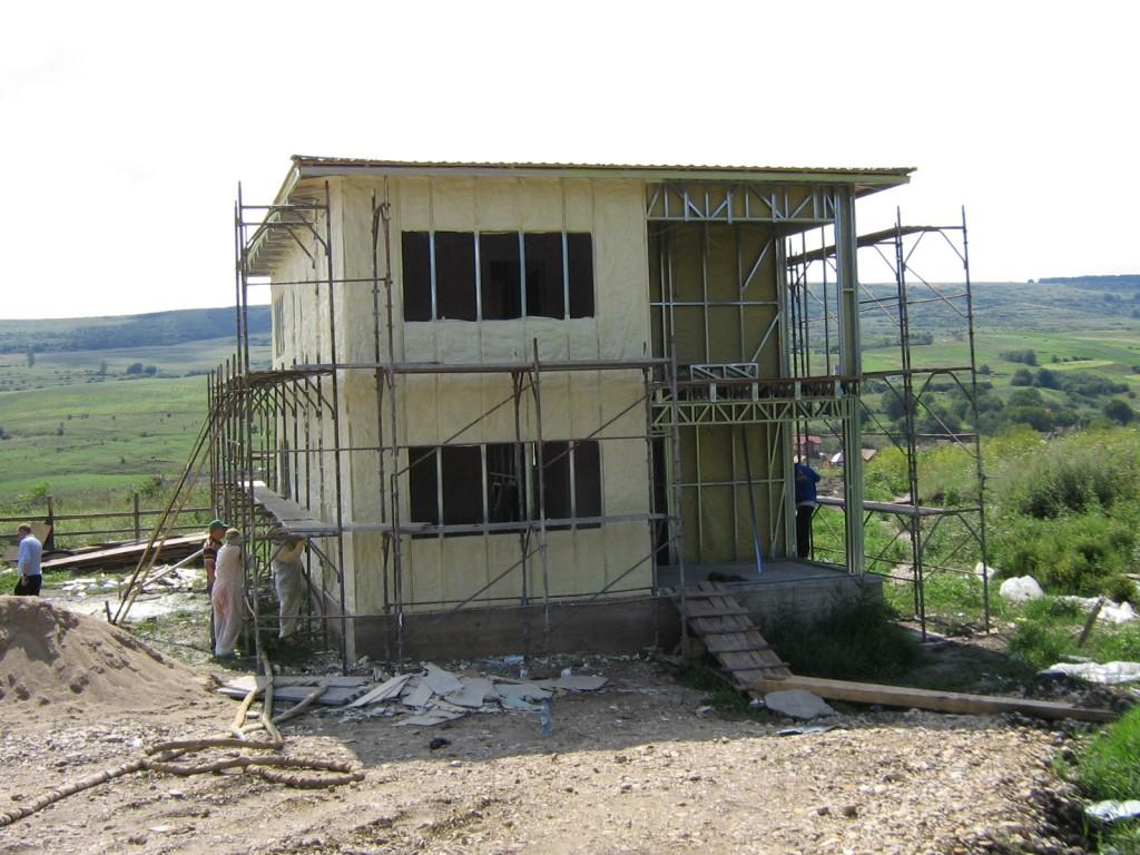 Casa structura metalica Cluj