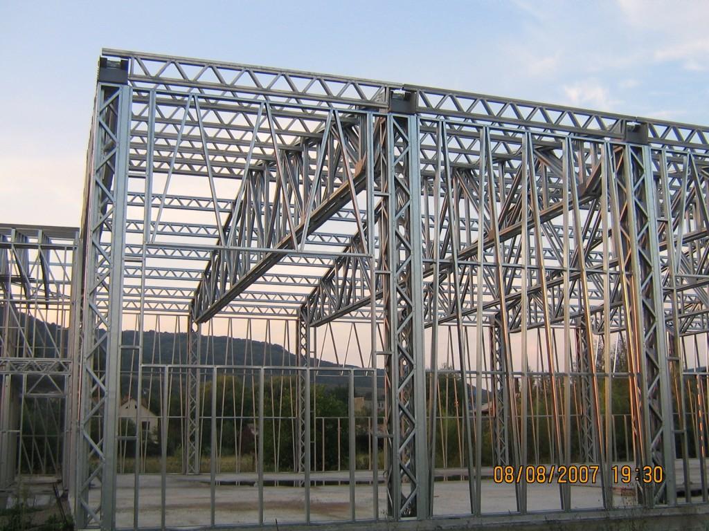 Hala pe structura metalica Simleul Silvaniei
