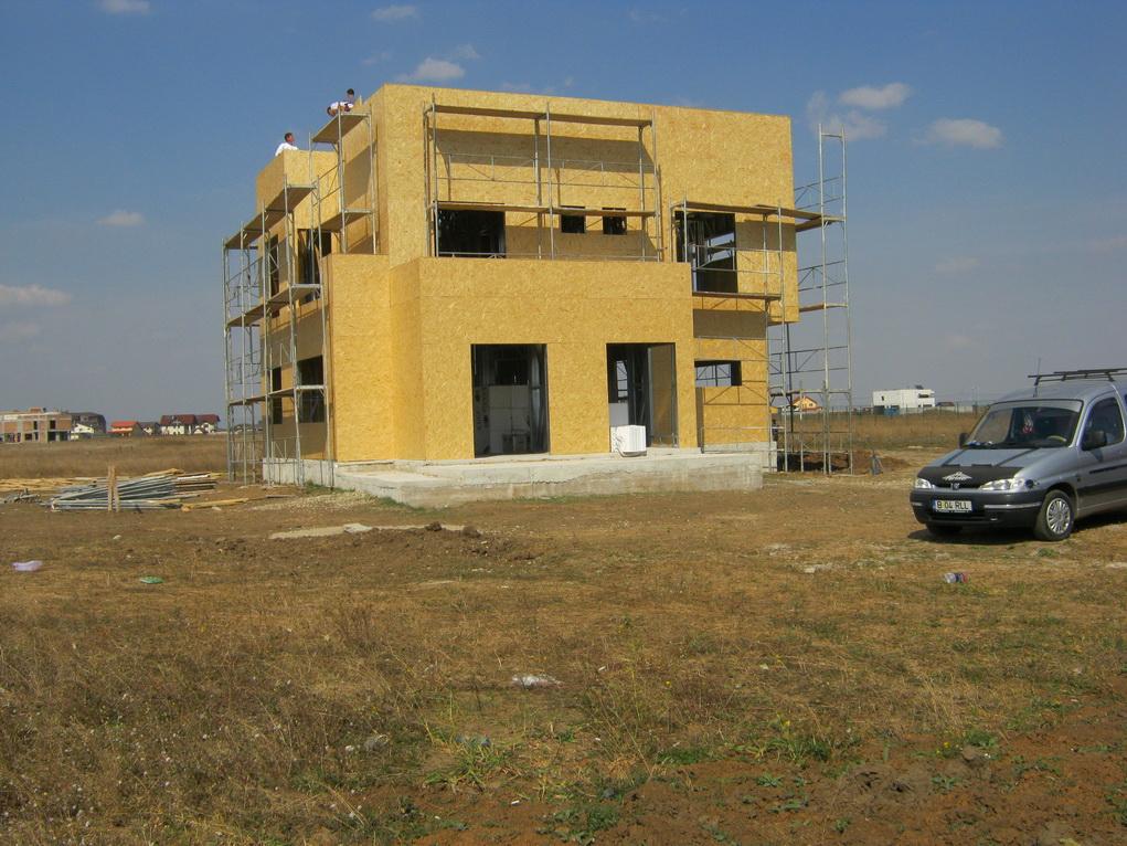 casa pe structura metalica Otopeni