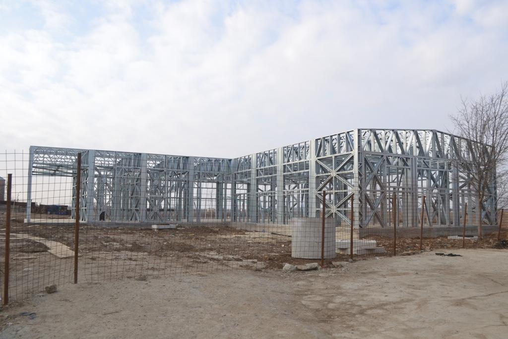 Piata pe structura metalica Balotesti