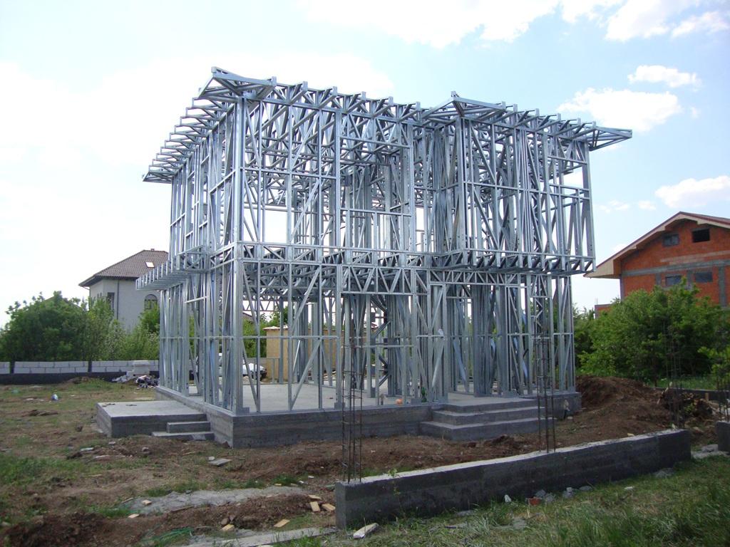 Proiectele lunii Iulie de-a lungul timpului: Casa pe structura metalica Mogosoaia 136 mp P+E