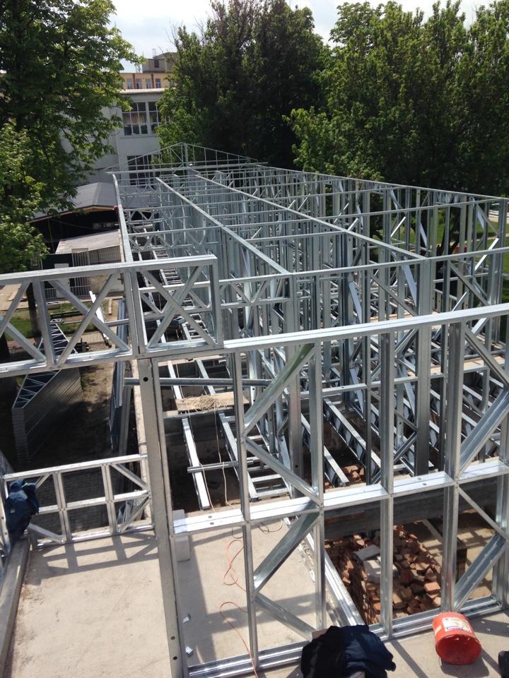 structura metalica usoara proiectata