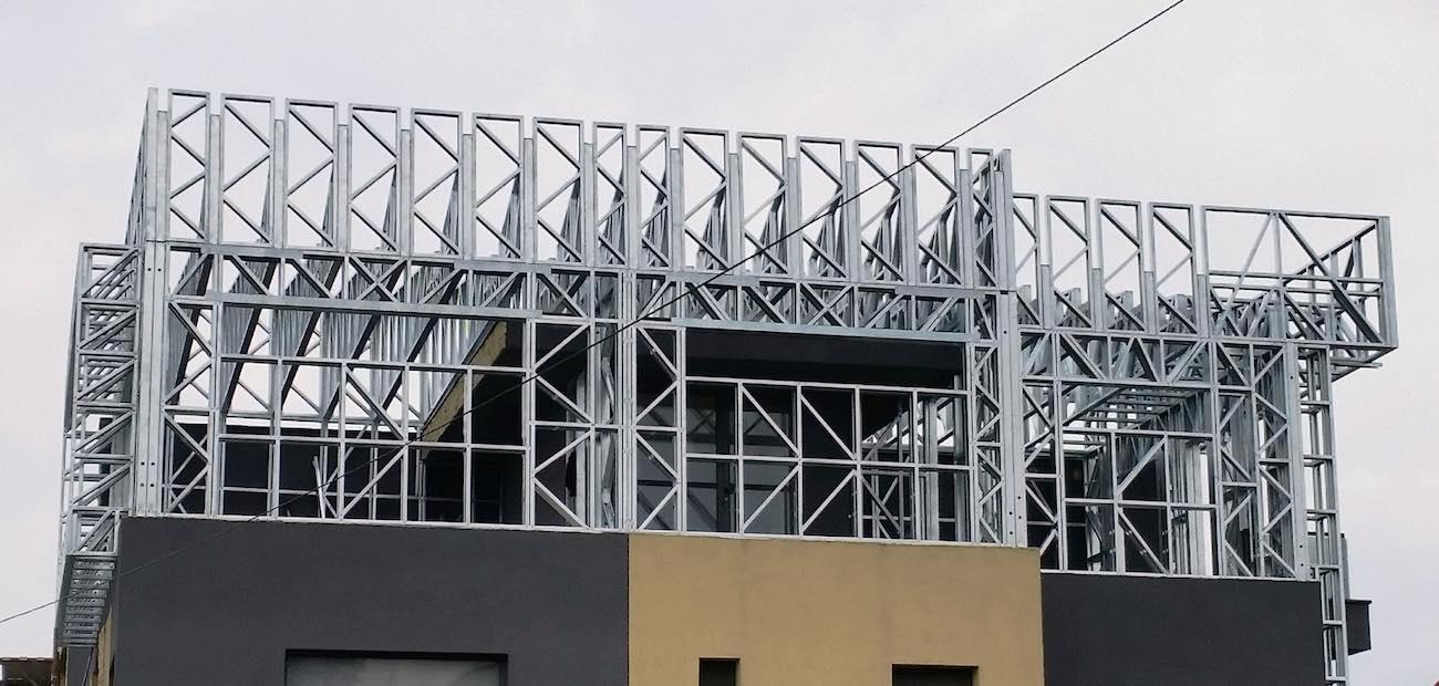 proiect pe structura metalica