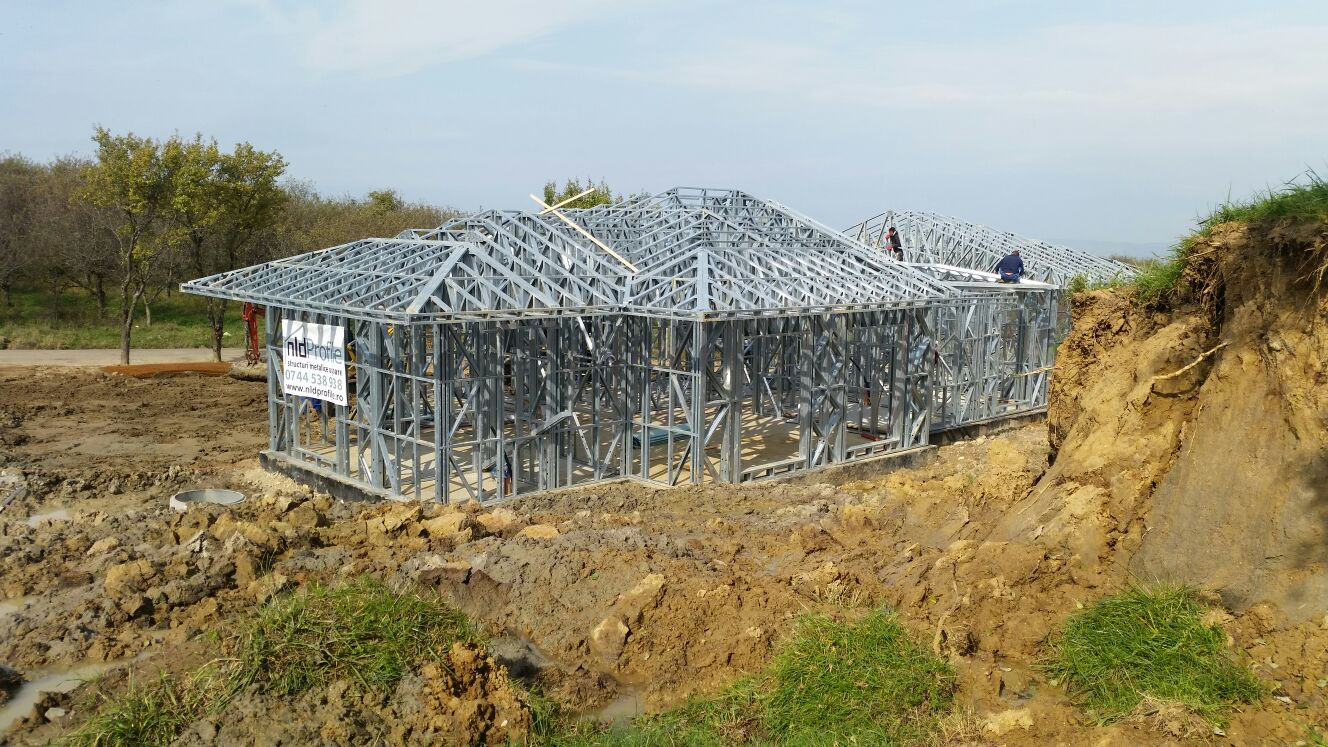 Casa pe structura metalica Feleac