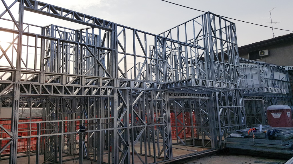 casa pe structura metalica Verona