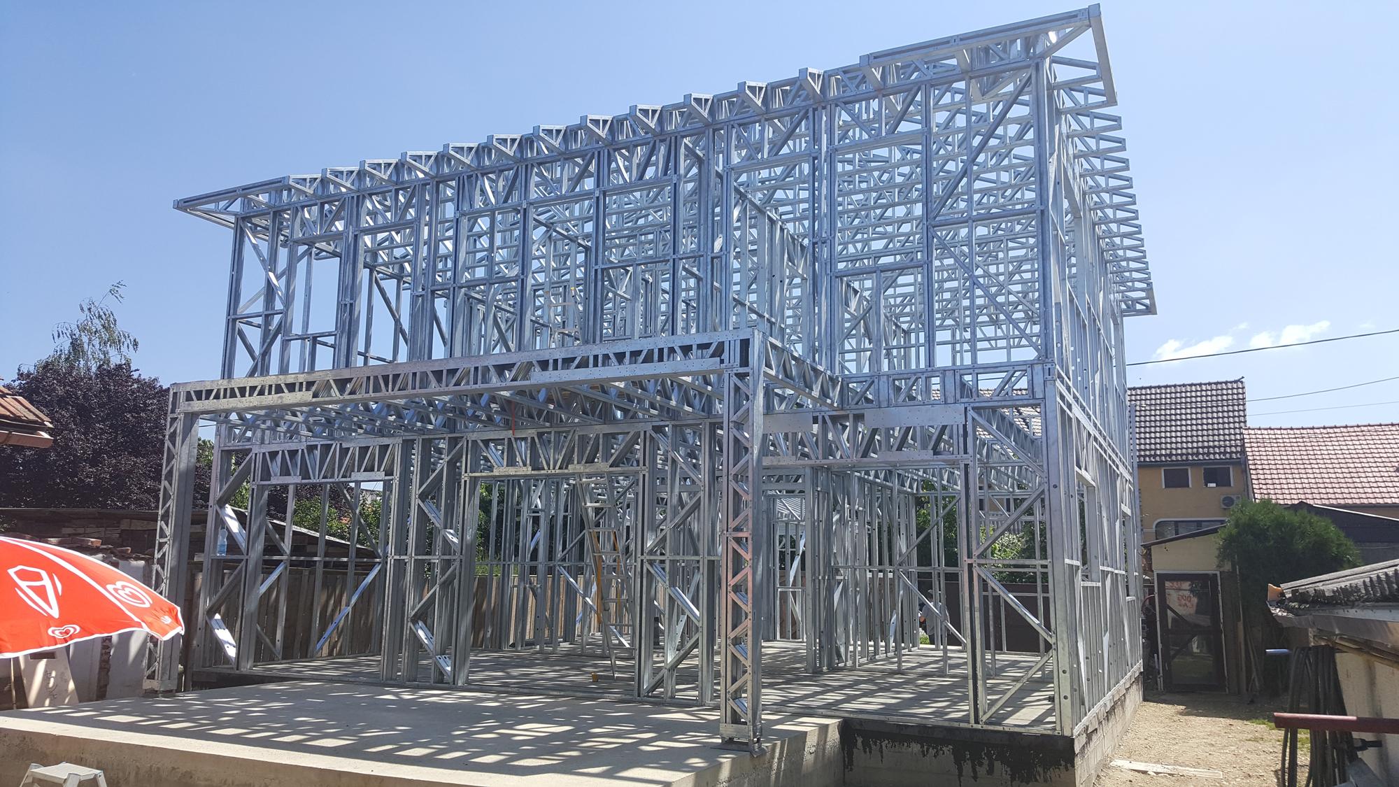 casa pe structura metalica Arad