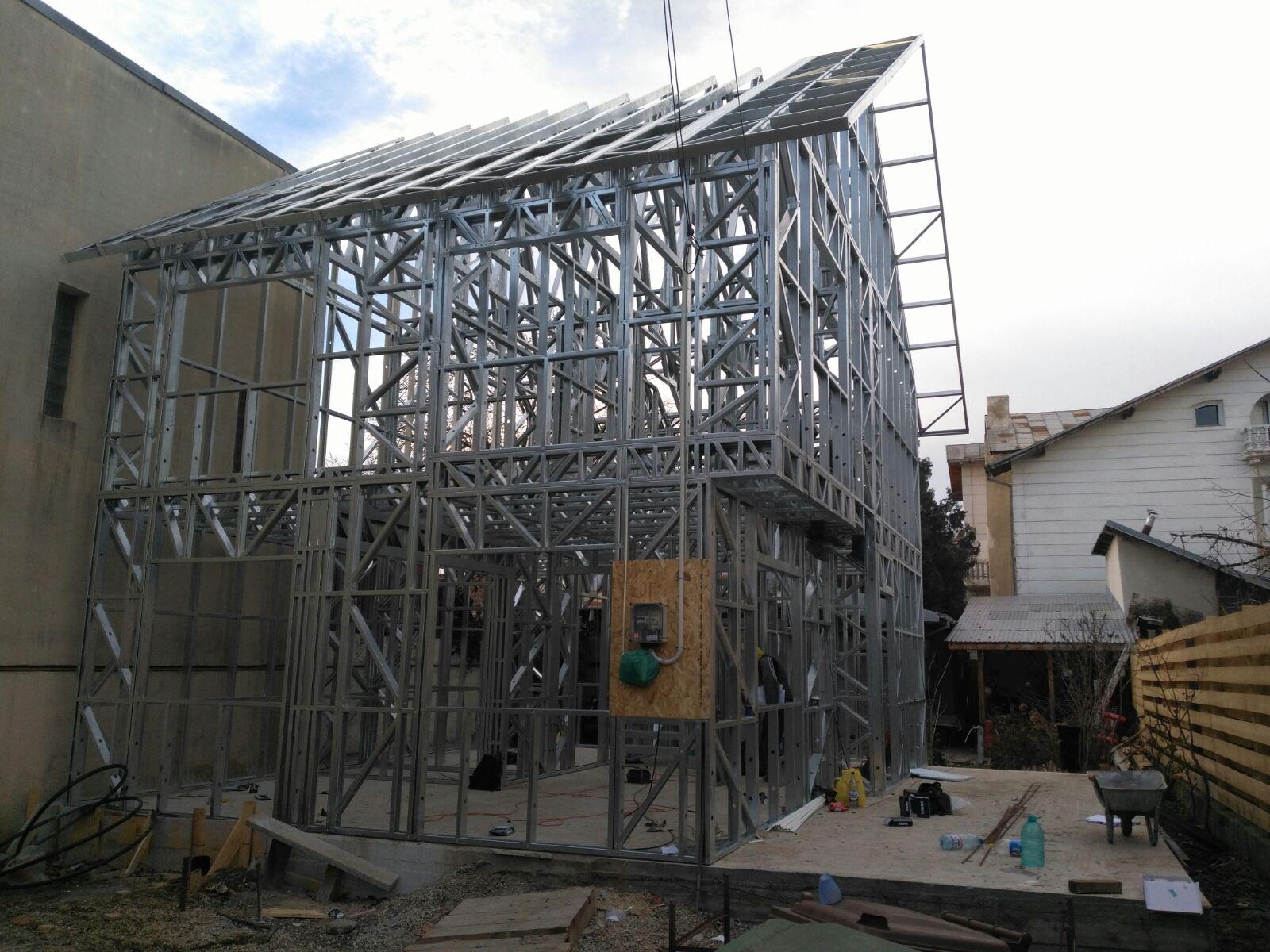 Casa pe structura metalica Bucuresti
