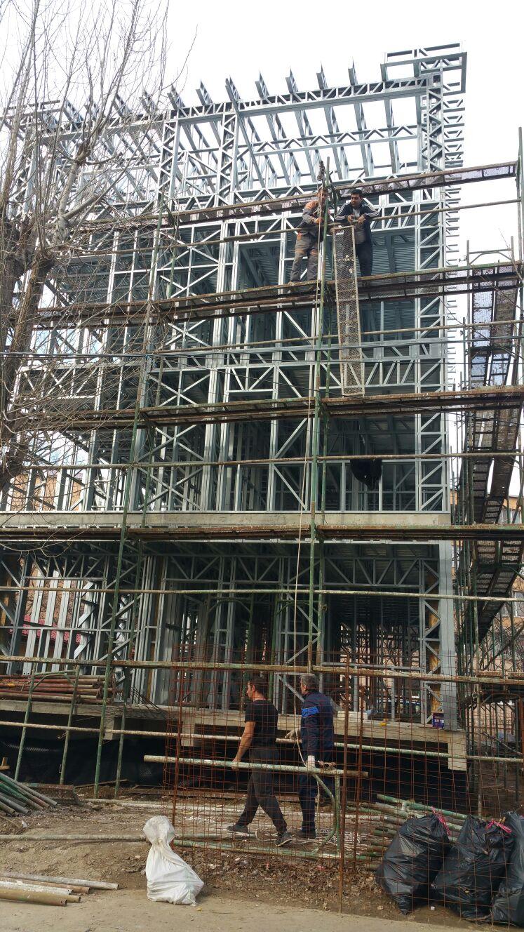 Casa pe structura metalica bucurestiuresti - o noua etapa